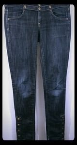 CITIZENS of HUMANITY Skinny Snap Stretch Jeans 26